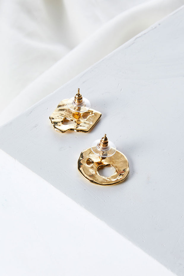 Asymmetric Geometric Earrings