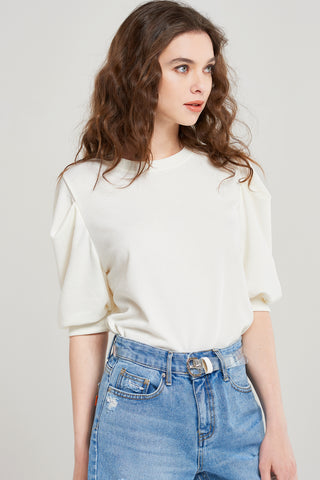 Sianne Semi Long Puff Top