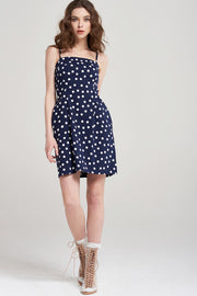 Ira Polka Dot Mini Dress