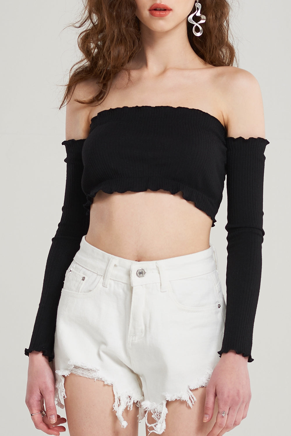 Margo Off Shoulder Beach Top