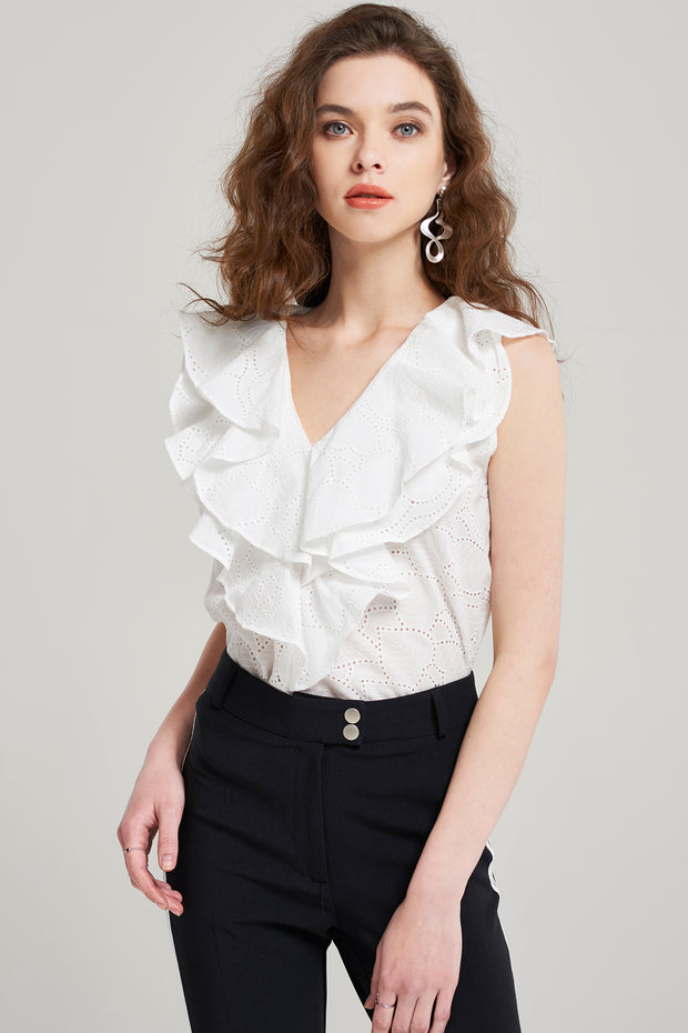 Sydnee Embroidery Blouse