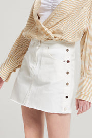 Coraline Side Buttoned Skirt