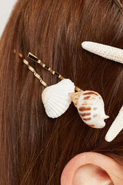 storets.com Sea Shell Bobby Pin Set
