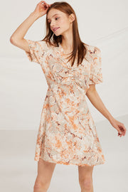 Luna Pictorial Print Dress by STORETS