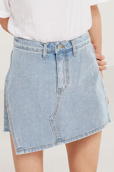 Vivian Denim Skort by STORETS