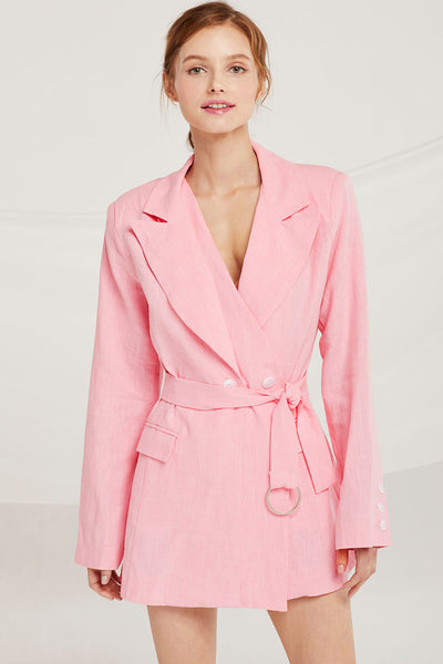 storets.com Brooklyn Asymmetric Double Lapel Jacket