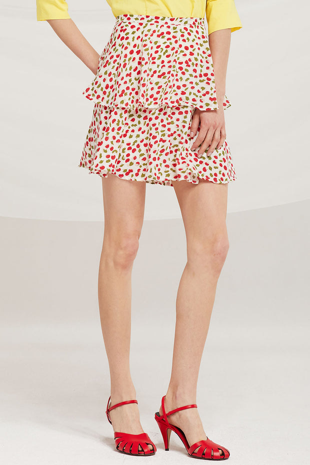 Liliana Cherry Berry Skirt