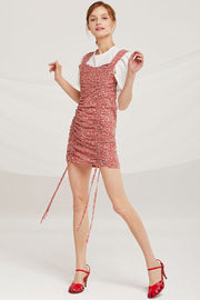 Riley Ruched Drawstring Dress by STORETS
