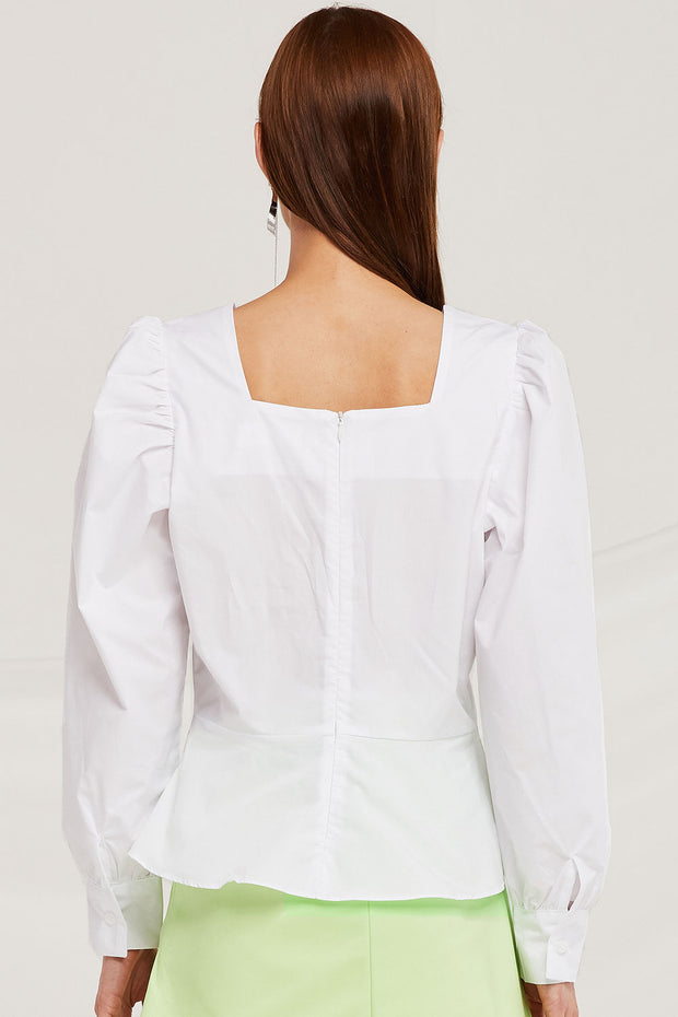 Isla Volume Sleeve Blouse