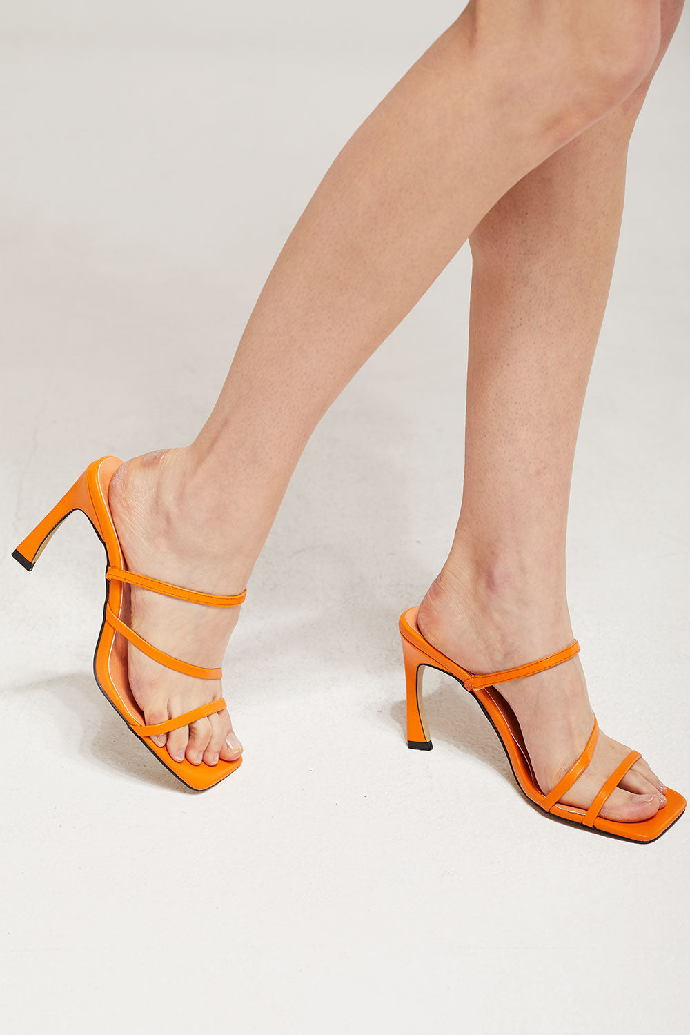 Strappy Heel Sandals by Storets
