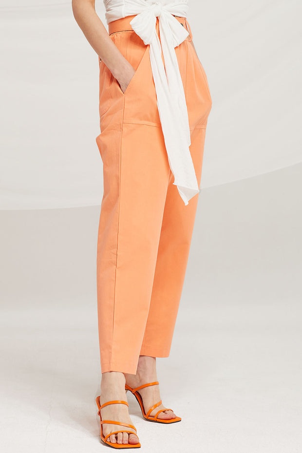 storets.com Gianna Belted Slouchy Pants