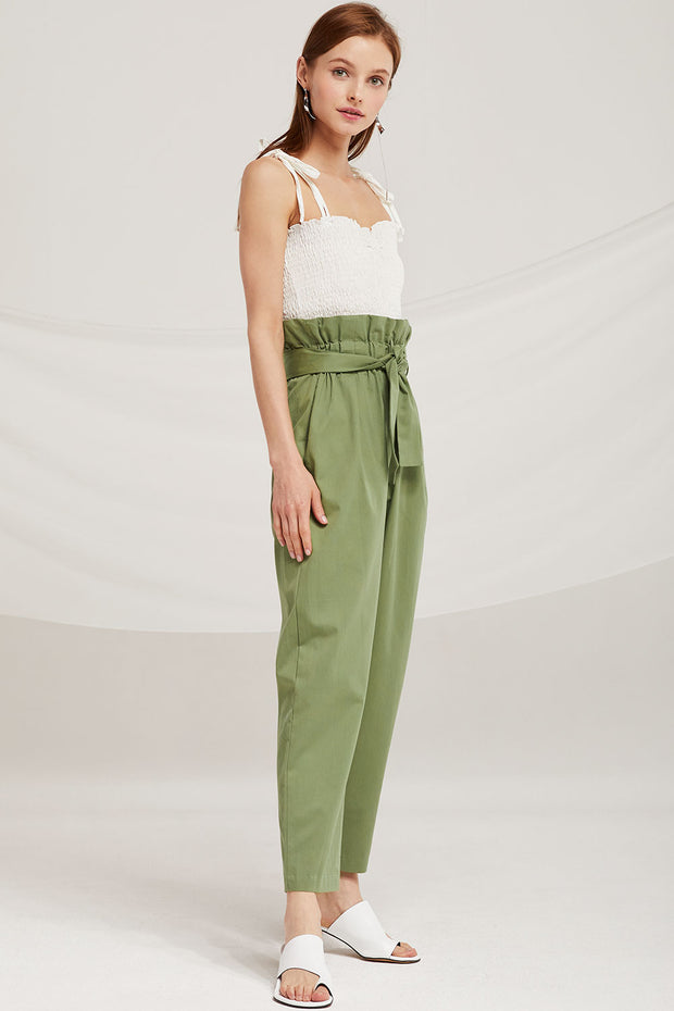Willow Paperbag Belted Pants