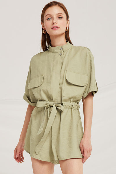 Evelyn Utility Romper by STORETS