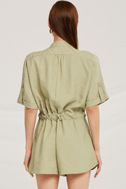 Evelyn Utility Romper