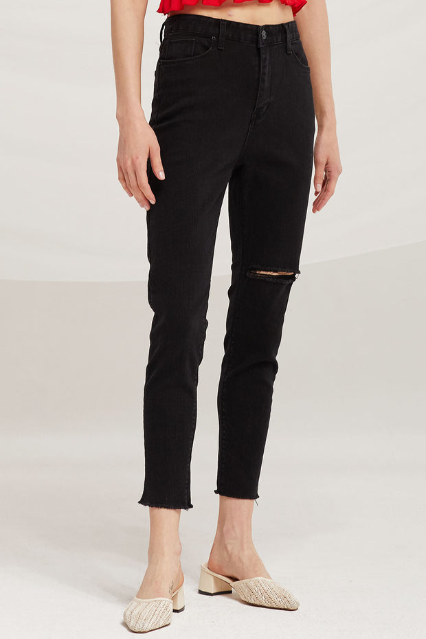 Sophie Thigh Rip Skinny Jeans