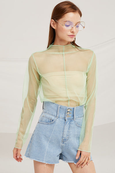 Adeline Mesh Top by STORETS