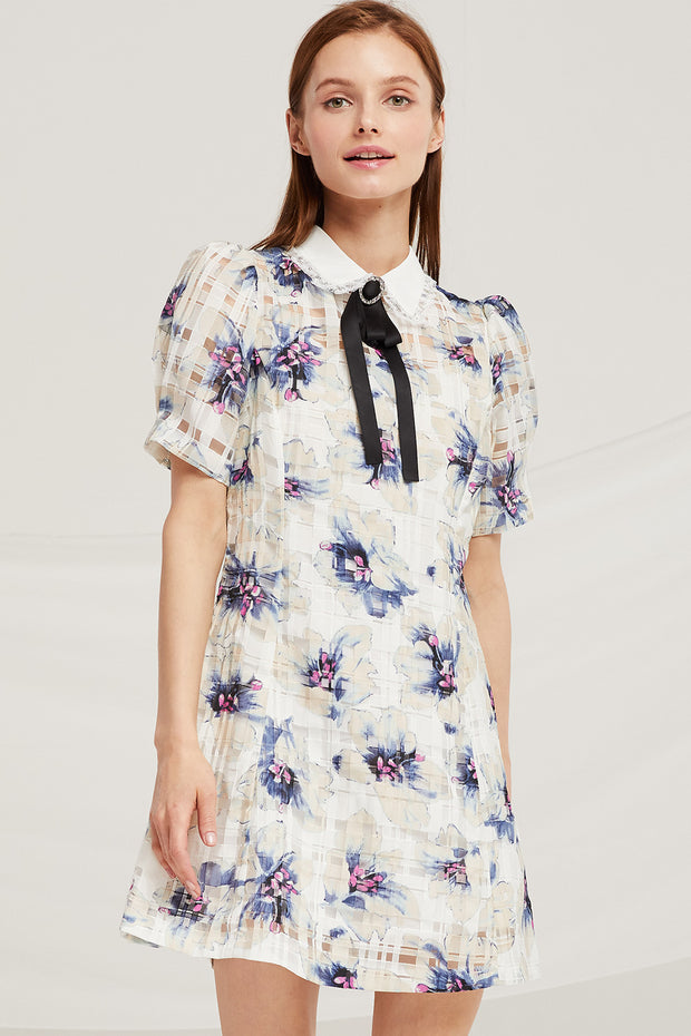 Madison Floral Organza Dress by STORETS