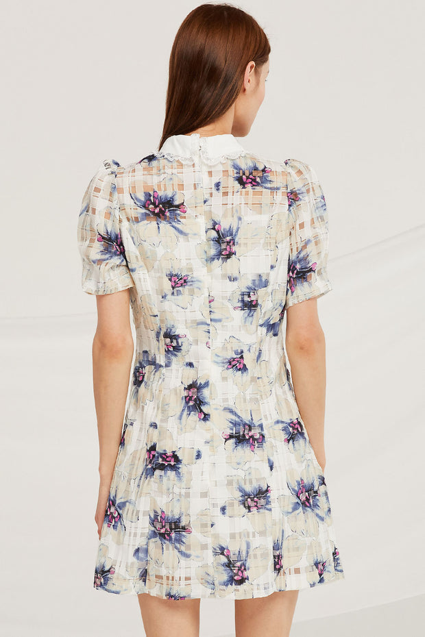 storets.com Madison Floral Organza Dress