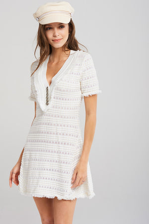 Eden Knitted Eyelet Dress