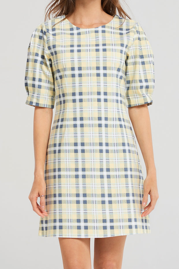 Taylor Checked Dress