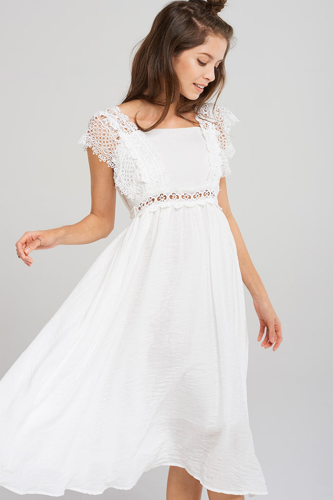 Savannah Crochet Dress
