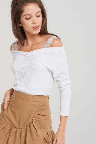 Samantha Lace Strap Top