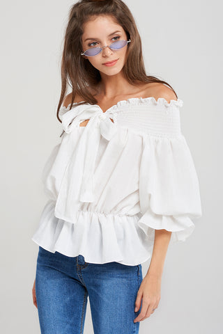 Stephanie Off Shoulder Top