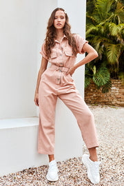 Jasmine Pocket Utility Jumpsuit by STORETS