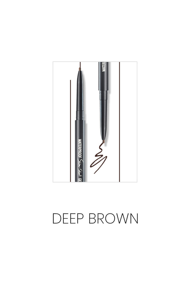MACQUEEN Newyork Waterproof Slim-Shot Gel Eyeliner