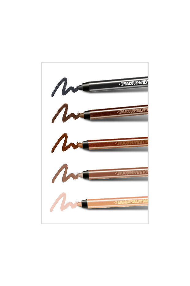 MACQUEEN Newyork Waterproof Pencil Gel Liner 5 Kit