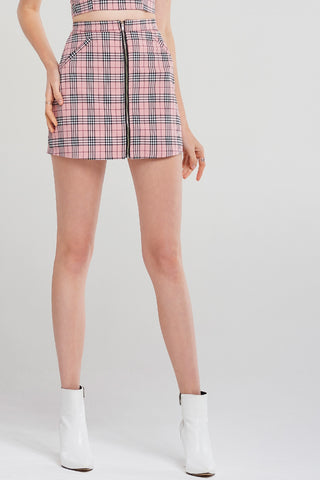 Lydia Classic Check Skirt