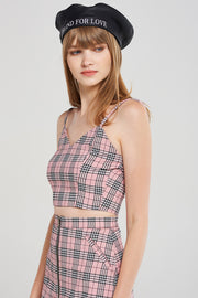 Lydia Classic Check Top