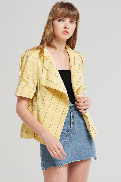 Luna Vertical Line Jacket
