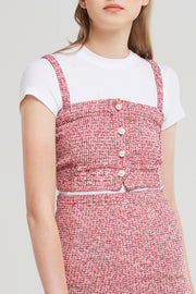 Ariel Tweed Top