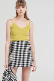 storets.com Cheyenne Checked Twig Skirt