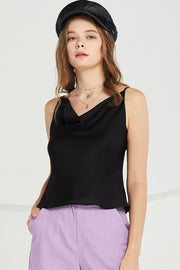 Trinity Cowl Neck Cami Top by STORETS