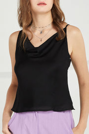 Trinity Cowl Neck Cami Top