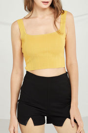 Cecilia Square Neck Tank Top by STORETS