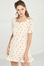 Delilah Cherry Berry Dress by STORETS