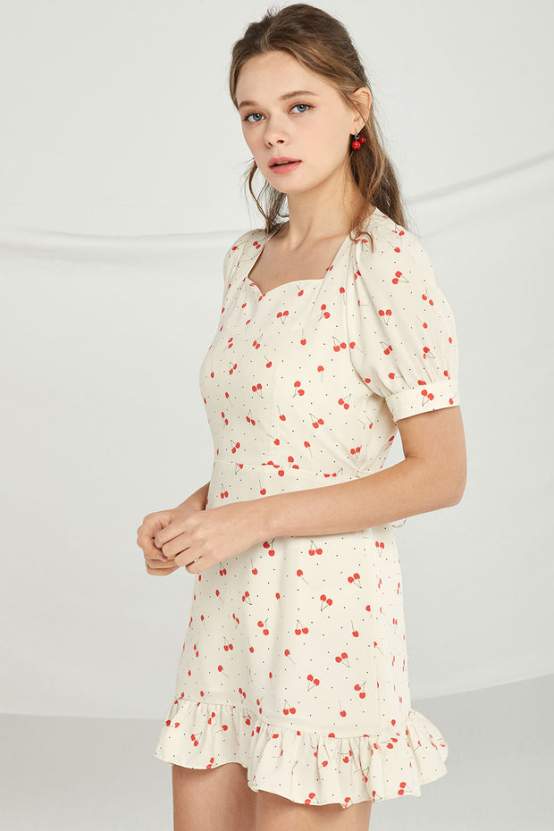 Delilah Cherry Berry Dress