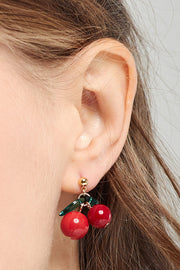 Cherry Berry Earrings by STORETS