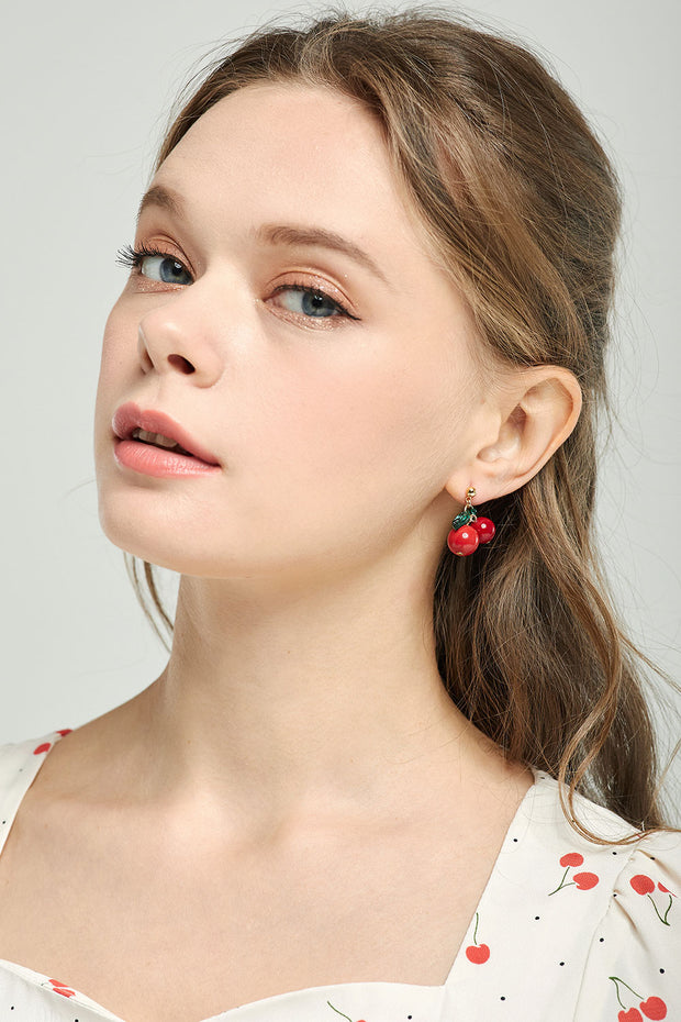 Cherry Berry Earrings