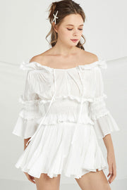 storets.com Tessa Crop Top And Floaty Skirt Set