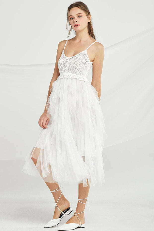 Lola Tiered Tulle Dress by STORETS