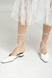 Lace-Up Mules by STORETS