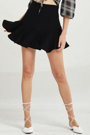 Julianna Wavy Ruffle Hem Skirt by STORETS