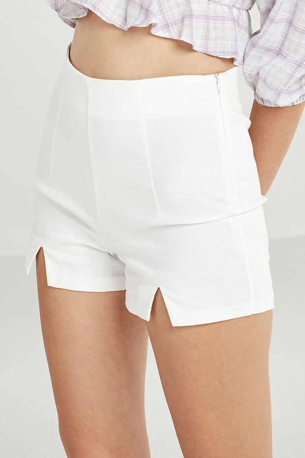 Mariah Shorts w/ Triangle Cut Hem