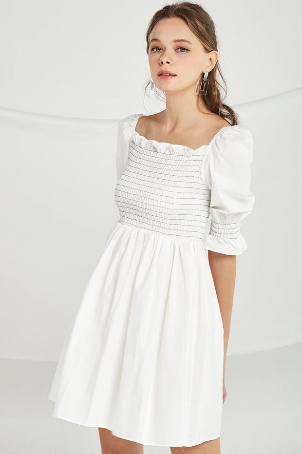 Rylee Smocked Skater Dress