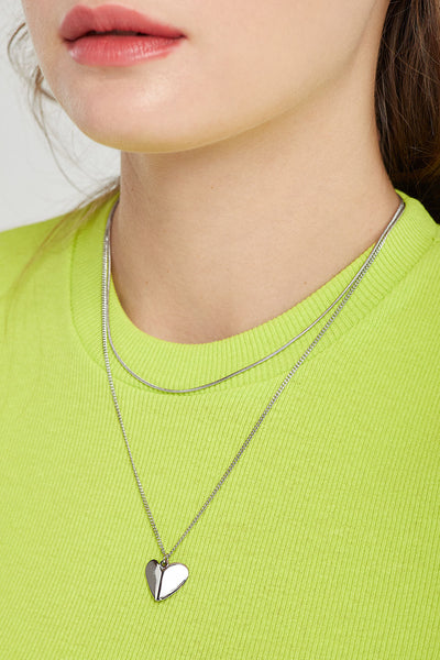 Sweetheart Layered Necklace by STORETS