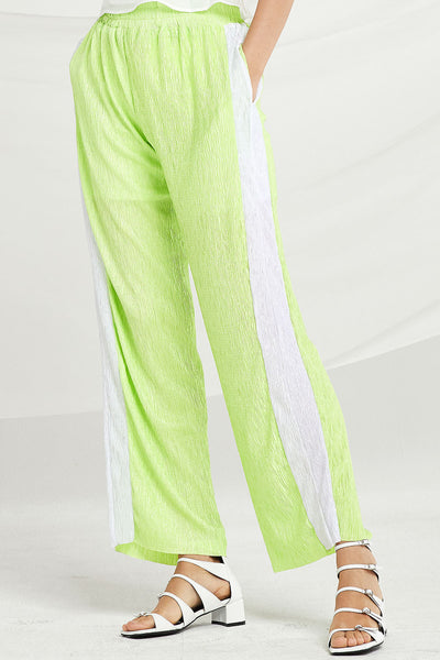 Adelyn Crinkled Palazzo Pants by STORETS
